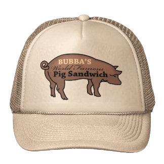 Bubba's World Famous Pig Sandwich Cap