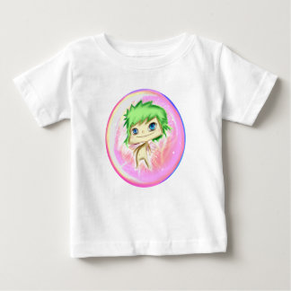 Bubble Angel Pink Number 2 Baby T-Shirt