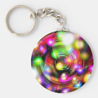 Bubble Art Key Chain