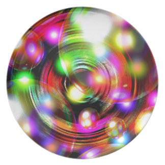 Bubble Art Plate