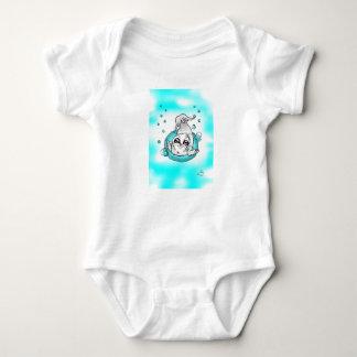 Bubble baby Seal baby bodysuit