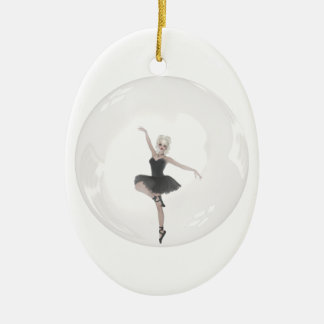 Bubble Ballerina 1 Christmas Ornament