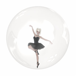 Bubble Ballerina 1 Standing Photo Sculpture