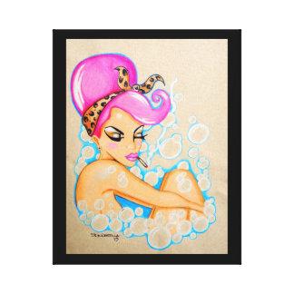 """""""Bubble Bath"""" Canvas Prints"""