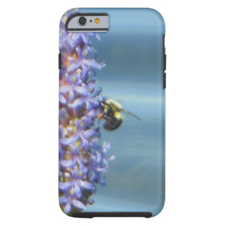 Bubble Bee on Purple Pickerelweed iPhone Case Tough iPhone 6 Case
