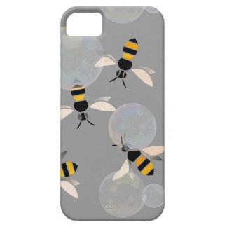 Bubble Bees Barely There iPhone 5 Case
