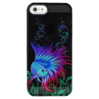 Bubble Betta Clear iPhone SE/5/5s Case