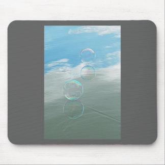 Bubble, Blue Mouse Pad