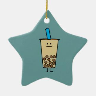 Bubble Boba Pearl Milk Tea Tapioca balls Christmas Ornament