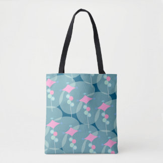 Bubble Boomerang Fifties Tote Bag