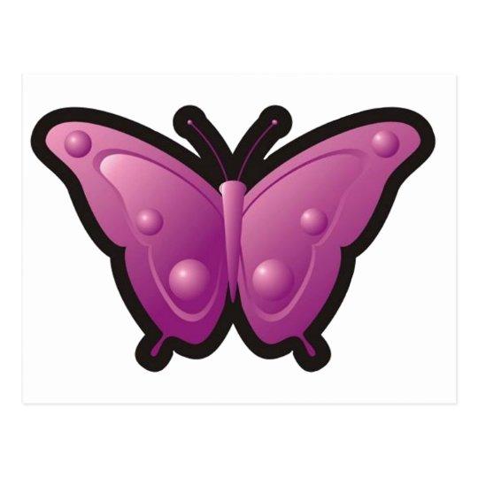 Bubble Butterfly 4 Postcard