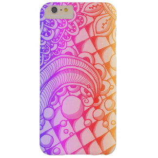 Bubble doodle barely there iPhone 6 plus case