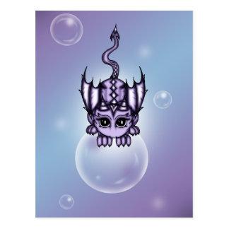 Bubble Dragon Postcard