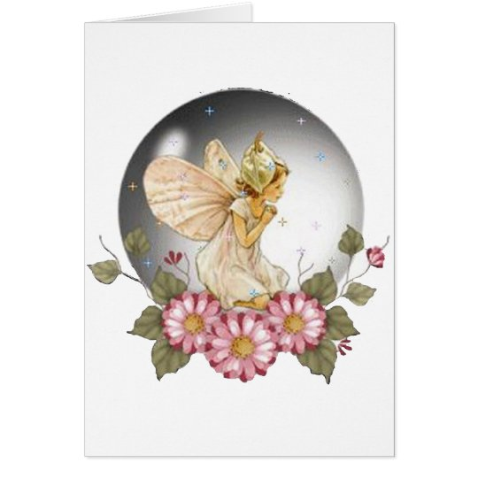 Bubble Fairy Card