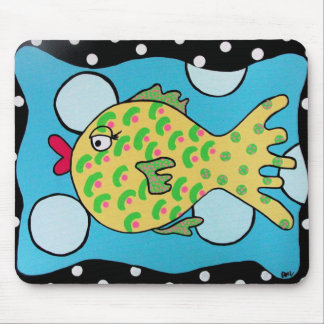 Bubble Fish Mousepad