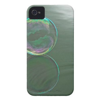 Bubble floating on water Case-Mate iPhone 4 cases