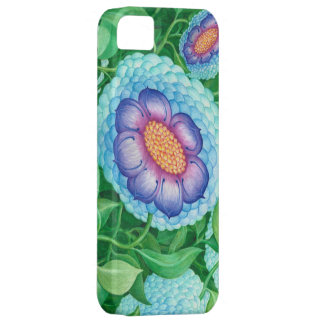 Bubble Flowers Barely There Ip4 iPhone 5 Case