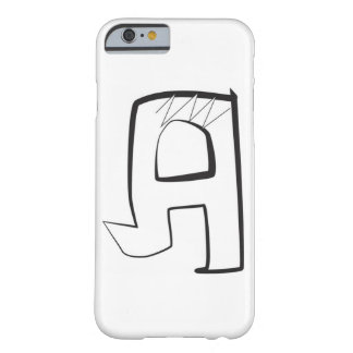 """Bubble graffiti angular style letter """"A"""" Barely There iPhone 6 Case"""