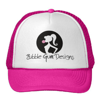 Bubble Gum Designs Logo Cap