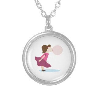 Bubble Gum Girl Necklaces