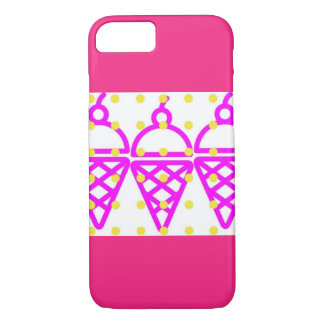 Bubble Gum Ice Cream iPhone 8/7 Case