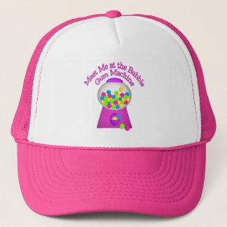 Bubble Gum Machine Trucker Hat