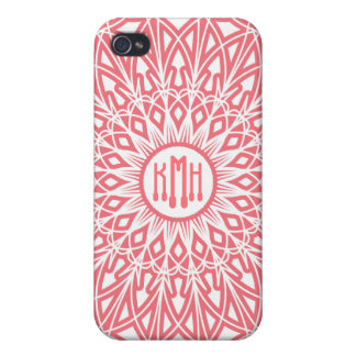 Bubble Gum Pink Crocheted Lace  iPhone 4 Cases