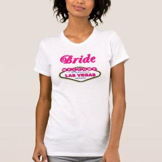 Bubble Gum Pink Las Vegas Bride Tee