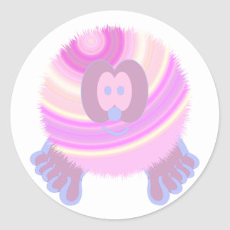 Bubble Gum Pom Pom Pal Stickers