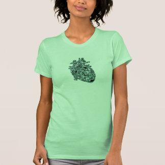 Bubble Heart Tee Shirts