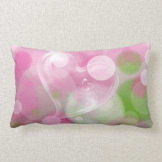 Bubble Hearts American MoJo Pillow