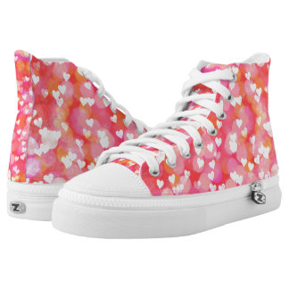 Bubble Hearts High Tops