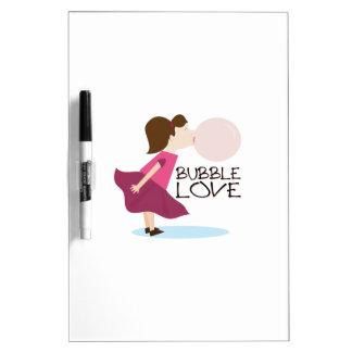 Bubble Love Dry-Erase Boards