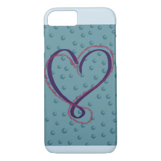 Bubble Love iphone cover