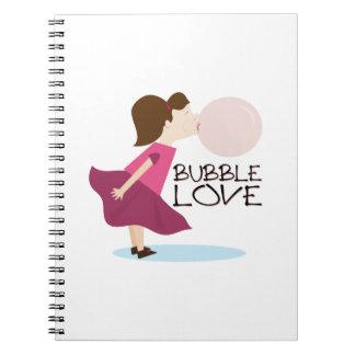 Bubble Love Notebooks