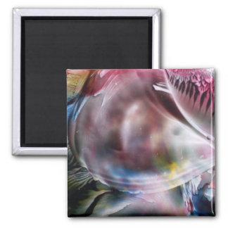 Bubble Square Magnet