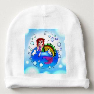 Bubble Mermaid baby beanie