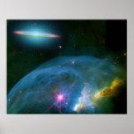 Bubble Nebula, & Poster