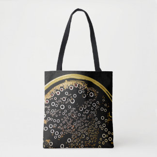 Bubble Pattern Tote Bag