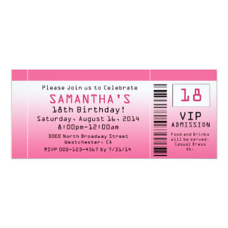 Shop Zazzle's selection of 18th birthday invitations for your party!