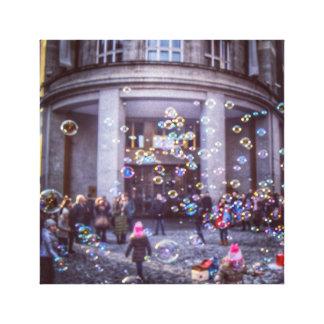 Bubble, Prague Canvas Print
