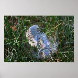 Bubble Reflection Photograph Print