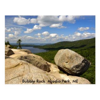 Bubble Rock  Acadia Park, ME Postcard