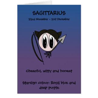 Bubble Scope Sagittarius Card