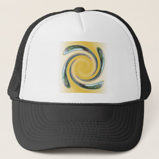 Bubble Spiral Trucker Hat