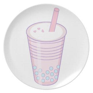 Bubble Tea Plate