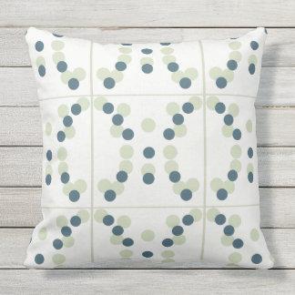 Bubble Tile Cotton Pillow