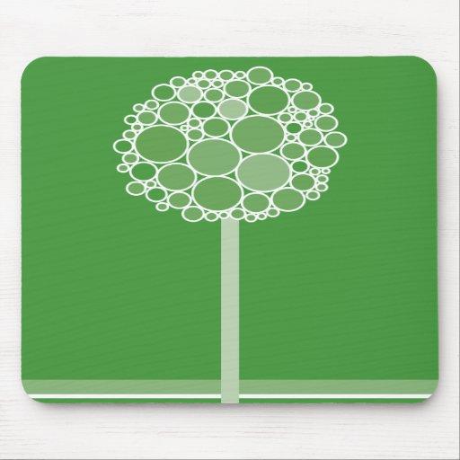 bubble tree 02 mouse pads