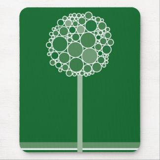 bubble tree 03 mouse pad