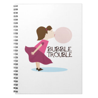 Bubble Trouble Spiral Notebook